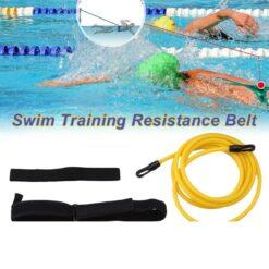 4M-Adjustable-Swimming-Resistance-Belt-Set-Swim-Training-Band-Swim-Elastic-Exerciser-Belt-Safety-Swimming-Pool-6