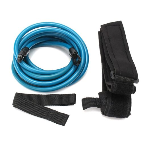 Blue-4M-Adjustable-Swimming-Resistance-Belt-Set-Swim-Training-Band-Swim-Elastic-Exerciser-Belt-Safety-Swimming-Pool-4