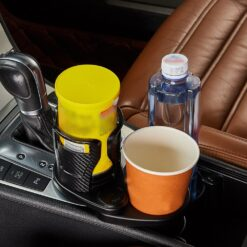 FORAUTO-Car-Dual-Cup-Holder-Adjustable-Cup-Stand-Sunglasses-Phone-Organizer-Drinking-Bottle-Holder-Bracket-Car-2