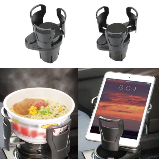 FORAUTO-Car-Dual-Cup-Holder-Adjustable-Cup-Stand-Sunglasses-Phone-Organizer-Drinking-Bottle-Holder-Bracket-Car-3