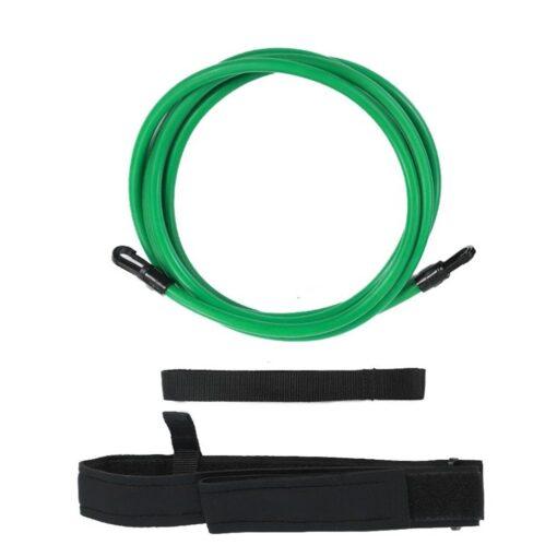 Green-4M-Adjustable-Swimming-Resistance-Belt-Set-Swim-Training-Band-Swim-Elastic-Exerciser-Belt-Safety-Swimming-Pool-5