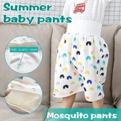Hot Comfy Waterproof Diaper Skirt Shorts