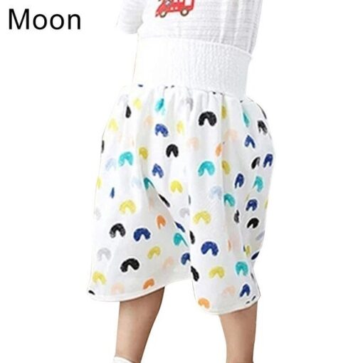 Comfy Waterproof Diaper Skirt Shorts