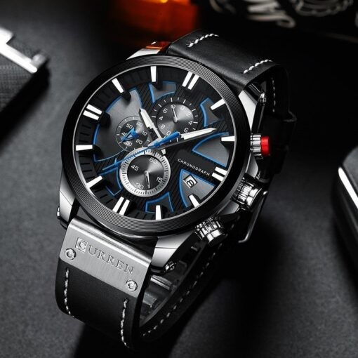 New Men Waterproof Sport Quartz Watch
